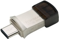 Transcend JetFlash 890S USB 3.1+Type-C 32 GB Pen Drive(Silver)