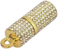 Quace Lipstick 32 GB Pen Drive(Gold)