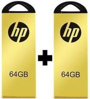 HP V225W 64 GB Pen Drive(Gold)