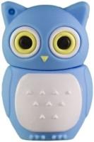 Microware Owl 32 GB Pen Drive(Blue)