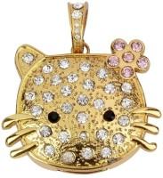 Quace Kitty 8 GB Pen Drive(Gold)