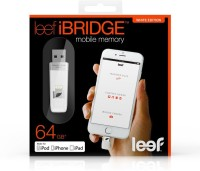 Leef iBridge Mobile Memory 64 GB Pen Drive(White)