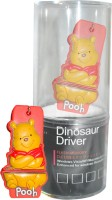 View Dinosaur Drivers Pooh Yellow 8 GB Pen Drive(Multicolor) Laptop Accessories Price Online(Dinosaur Drivers)