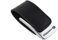 View Eshop Stylist Leather Metal Chrome Casing USB Flash Drive 8 GB Pen Drive(Black) Laptop Accessories Price Online(Eshop)