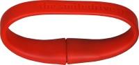 Smiledrive Wristband 8 GB Pen Drive(Red)