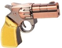 Microware Gun Golden Metal Shape 4 GB Pen Drive