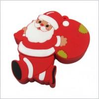 Smiledrive Santa Claus Shaped USB 8 GB Pen Drive(Red)