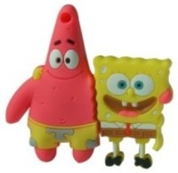 Microware Patrick Star & SpongeBob Shape 8 GB Pen Drive