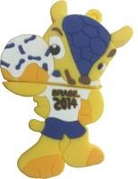 Microware Fifa Football 2014 Mascot Shape Designer Fancy Pendrive 16 GB Pen Drive