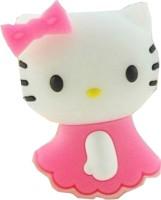 Microware Hello Kitty Shape 16 GB Pen Drive(Pink)