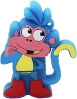 microware Blue Monkey Shape 8 GB Pen Drive
