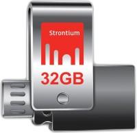 Strontium Nitro Plus 32 GB Pen Drive(Silver)