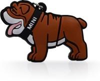 Microware Barking Dog 32 GB Pen Drive(Brown)