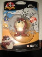 View Emtec Looney Tunes Taz 8 GB Pen Drive(Brown) Laptop Accessories Price Online(Emtec)