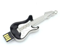 QUACE Electric Guitar 16 GB Pen Drive(Black)