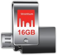 Strontium NITRO PLUS ON-THE-GO USB 3.0 16 GB OTG Drive(Silver, Type A to Micro USB)