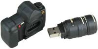 Microware Camera Shape Designer Pen Drive 4 GB(Black)