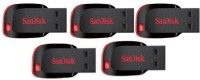 SanDisk Cruzer Blade USB Flash Drive 16 GB Pen Drive(Black)