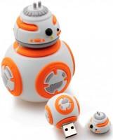 Microware Starwars BB Robot 16 GB Pen Drive(White, Orange)