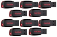SanDisk Cruzer Blade USB Flash Drive 16 GB Pen Drive(Multicolor)