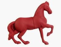 Microware Horseshape 16 GB Pen Drive(Red)