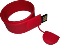 View FLIPFIT 100 % Original Highspeed SILICON STYLISH FASHION WRIST BANDD 8 GB Pen Drive(Red) Laptop Accessories Price Online(Flipfit)