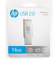 HP V232 W 16 GB Pen Drive(Grey)