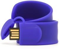 View Eshop Silicone Slap Wrist Band USB Flash Drive 4 GB Pen Drive(Blue) Laptop Accessories Price Online(Eshop)