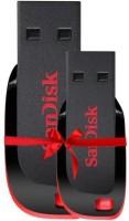 SanDisk STASP8C 8 GB Pen Drive(Black, Red)