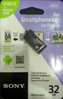 View Sony SONY USM32SA2 B MICRO VAULT 32 GB Pen Drive(Black) Price Online(Sony)