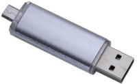 Eshop 2 in 1 OTG Micro USB Flash Drive 8 GB OTG Drive(Silver, Type A to Micro USB)