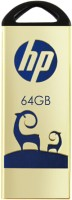 HP V231W 64 GB Pen Drive(Gold)