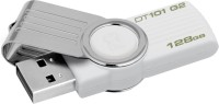 Kingston Data Traveler 101 G2 128 GB Pen Drive(White)