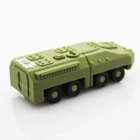 Microware Military Force Tank 32 GB Pen Drive(Green)
