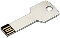 Digitalk Solution Fancy Key Shaped Metal 16 GB Pen Drive(Silver)