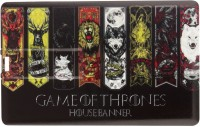 Quace Game of Thrones 7 House Banners 8 GB Pen Drive(Multicolor)