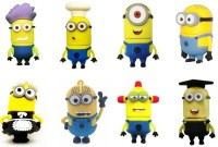 Quace Minion Family 4 GB Pen Drive(Yellow)