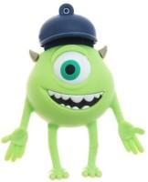 Microware One Eye Monster Purple Cap 8 GB Pen Drive(Multicolor)