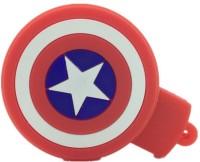 Microware Captain America Star Shape 32 GB Pen Drive(Red, White, Multicolor)