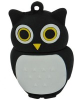 Microware Owl 32 GB Pen Drive(Black)