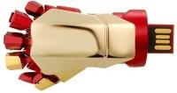 Quace Cool Superhero Hand Usb With Led 16 GB Pen Drive(Multicolor)