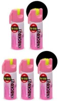 Knockout Champ With Glow-In Dark Trigger Pepper Stream Spray