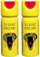 Cobra Pair of Self Defence Pepper Stream Spray