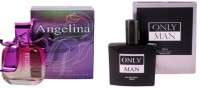 Ramco Angelina and Only Man Perfume Eau de Parfum  -  200 ml(For Men)