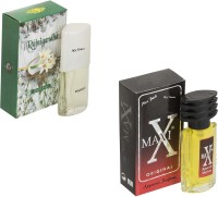 My Tunes Combo Pack Rajnigandha 30Ml & Maxi Red- 30ml Eau de Parfum  -  60 ml(For Men)