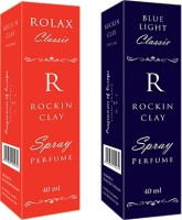 Rockinclay (Rolax Classic & BlueLight Classic) Eau de Parfum  -  80 ml(For Men)