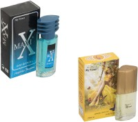 My Tunes Combo Pack Maxi Blue 30 Ml & Afreen- 20 ml Eau de Parfum  -  50 ml(For Men)