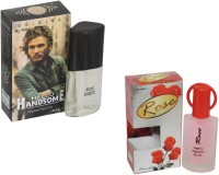 My Tunes Combo Pack Rose 30 Ml & Hello Handsome- 20 ml Eau de Parfum  -  50 ml(For Men)