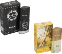 My Tunes Combo Pack CBR Black & Afreen-20 ml Eau de Parfum  -  40 ml(For Men)