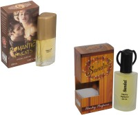 My Tunes Combo Pack Sandal 30 Ml & Romantic Moments- 20 ml Eau de Parfum  -  50 ml(For Men)